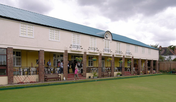 Temple Bowling Club's magnificent 1930s pavilion