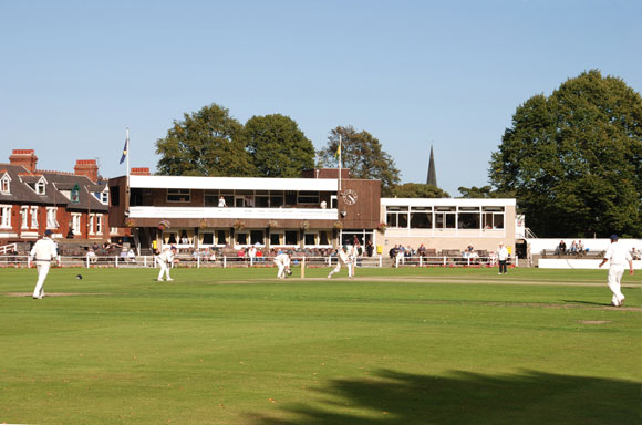 A fine afternoon's play at Newcastle Cricket Club in Jesmond