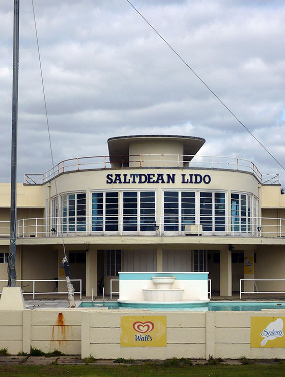 Saltdean Lido, Brighton – a new entry to the HAR since 2013